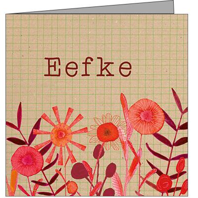 Geboortekaartje Eefke