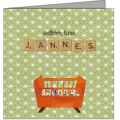 Geboortekaartje Jannes