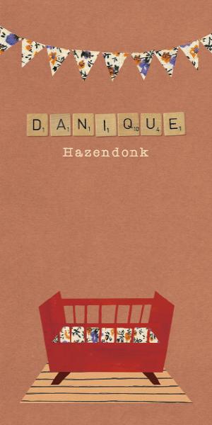 Geboortekaartje Danique