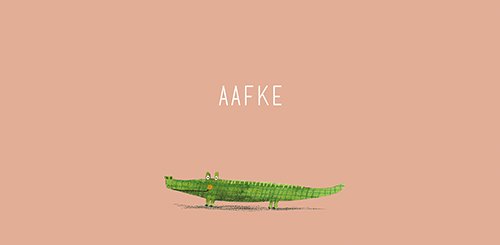 Geboortekaartje Aafke
